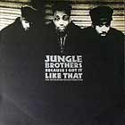 JUNGLE BROTHERS : BECAUSE I GOT IT LIKE THAT  (ULTIMATU...