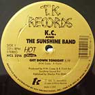 K.C. AND THE SUNSHINE BAND : GET DOWN TONIGHT  / THAT'S THE WAY (I LIKE IT)