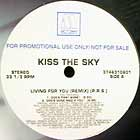 KISS THE SKY : LIVING FOR YOU  (REMIX)