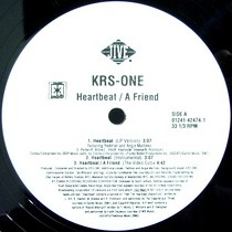 KRS ONE : A FRIEND  / HEARTBEAT