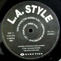 L.A. STYLE : GOD SHAVE THE QUEEN  / JAMES BROWN IS...