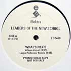 LEADERS OF THE NEW SCHOOL : WHAT'S NEXT ?