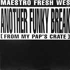 MAESTRO FRESH-WES : ANOTHER FUNKY BREAK (FROM MY PAP'S CRATE)