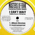 MASTERS OF FUNK : I CAN'T WAIT
