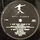 MATT BIANCO : JUST CANT STAND IT  / UP FRONT