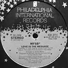 MFSB : LOVE IS THE MESSAGE