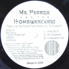 MR. FREEZE  and THE HOMEWRECKERS : OH SUZANNAH  EP