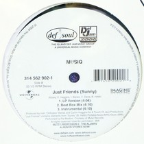 MUSIQ : JUST FRIENDS (SUNNY)