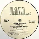 NIKITA WARREN : I NEED YOU