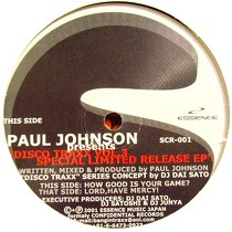 PAUL JOHNSON  presents : DISCO TRAXX  VOL.3