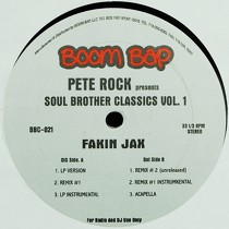 PETE ROCK  presents SOUL BROTHER CLASSICS VOL.1 : FAKIN JAX