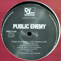 PUBLIC ENEMY : PUBLIC ENEMY IS NO. 1