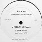 RAKIM  / FORCE MD'S : FEELIN' YOU (REMIX)  / LET ME LOVE YOU (45 KING REMIXES)
