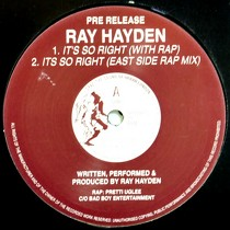 RAY HAYDEN : IT'S SO RIGHT