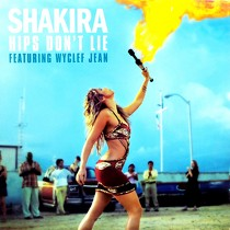 SHAKIRA  ft. WYCLEF JEAN : HIPS DON'T LIE