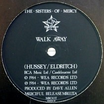 SISTERS OF MERCY : WALK AWAY