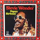 STEVIE WONDER : HAPPY BIRTHDAY