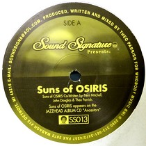 THEO PARRISH : SUNS OF OSIRIS