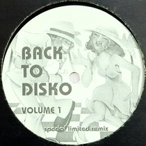 V.A. : BACK TO DISKO  VOLUME 1