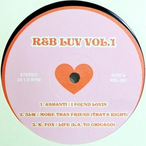 V.A. : R&B LUV  VOL. 1